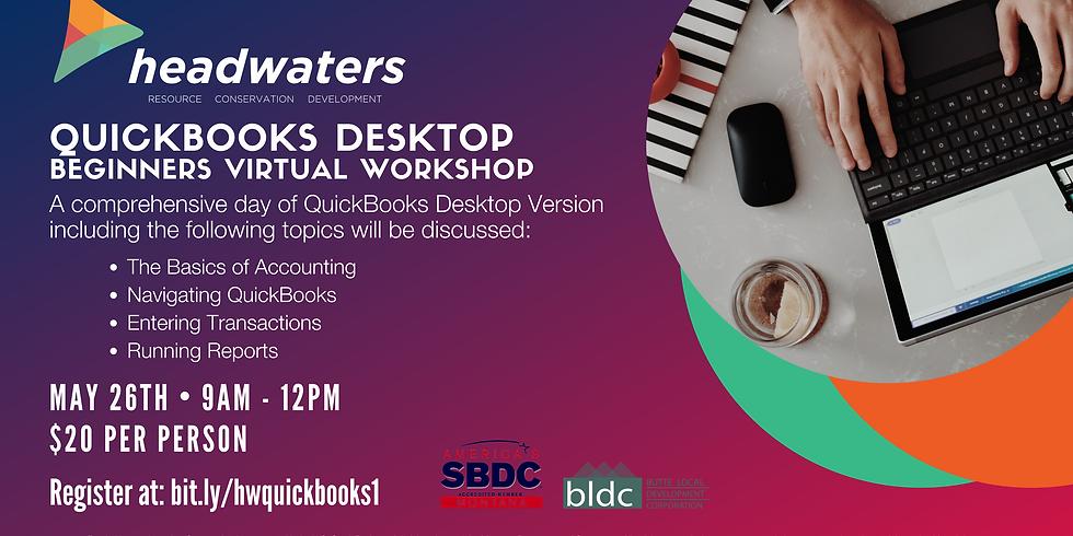 Quickbooks Desktop | Beginner Virtual Workshop