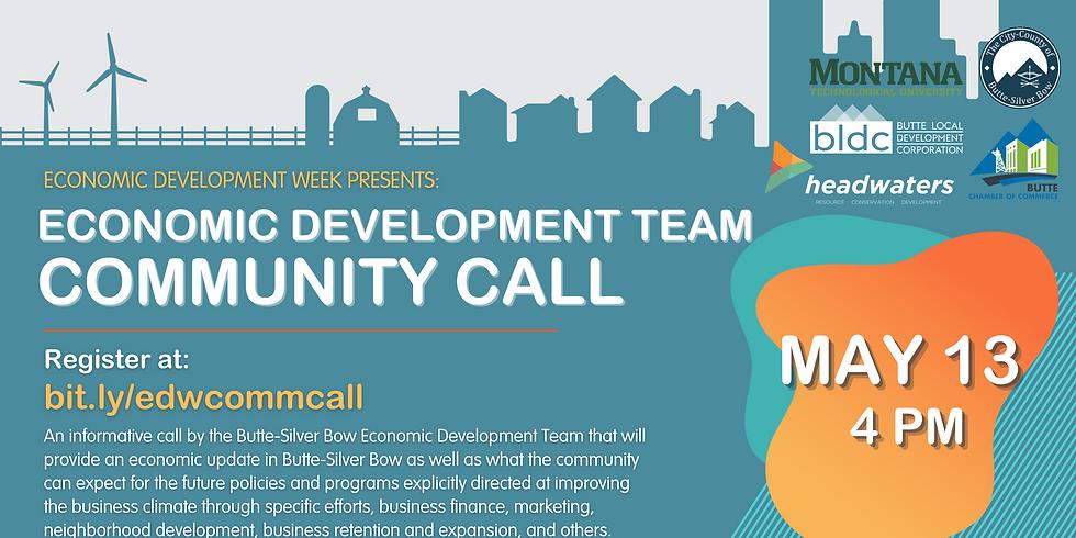 Butte Economic Development Team: Community Call