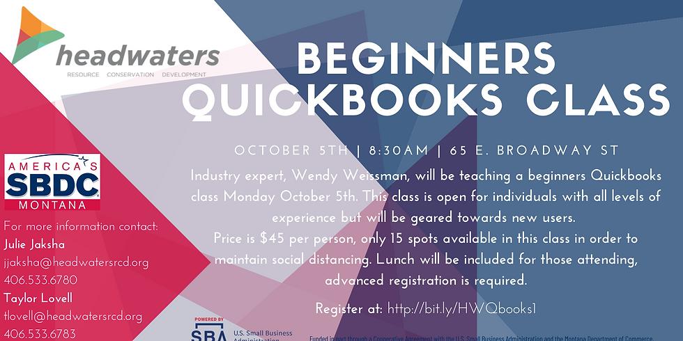 Beginners Quickbooks Class