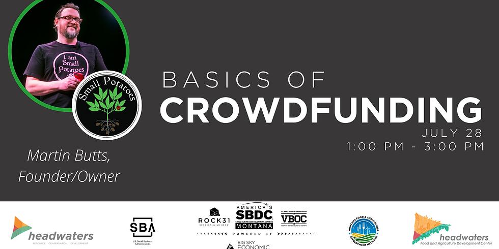 Basics of Crowdfunding