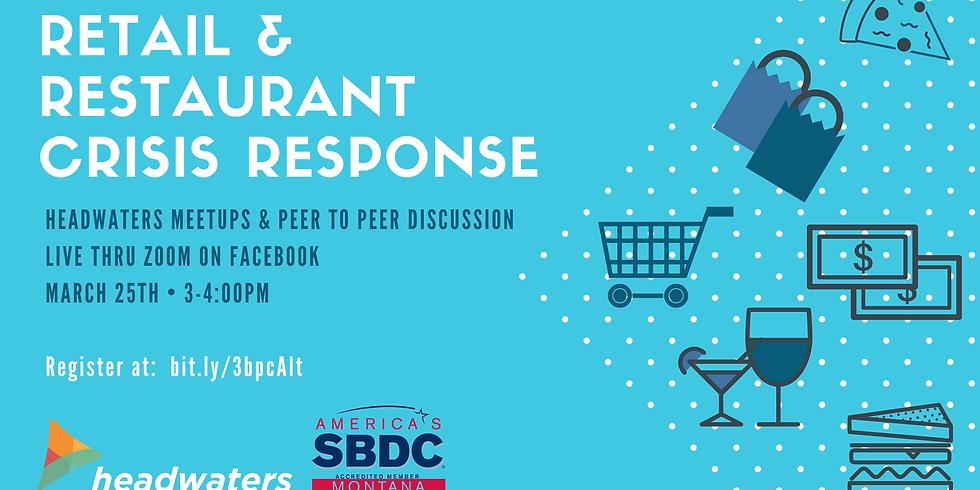 Retail & Restaurant Crisis Response Virtual Meetup