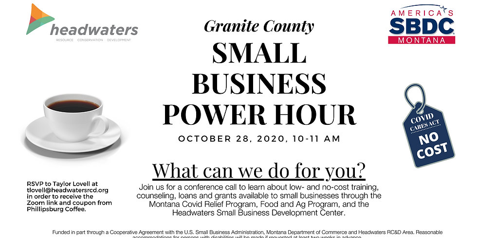 Granite County Small Business Power Hour