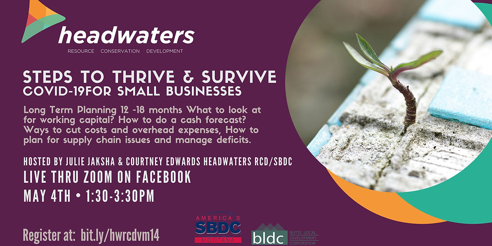 Steps to Thrive & Survive COVID-19