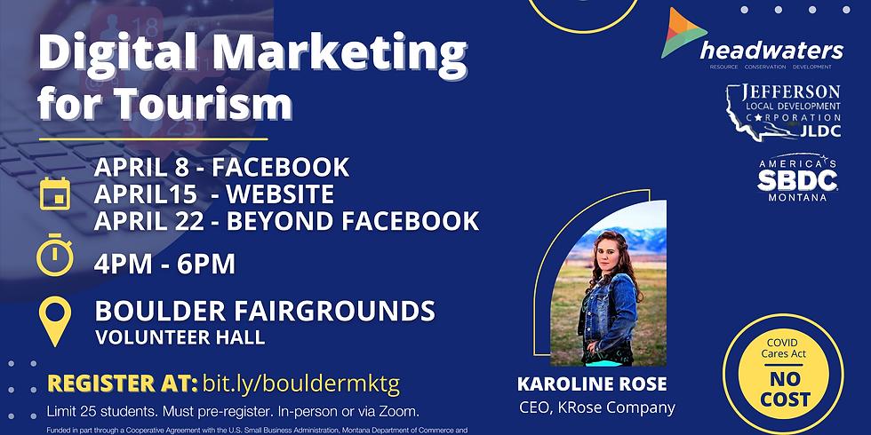 Digital Marketing for Tourism - Websites