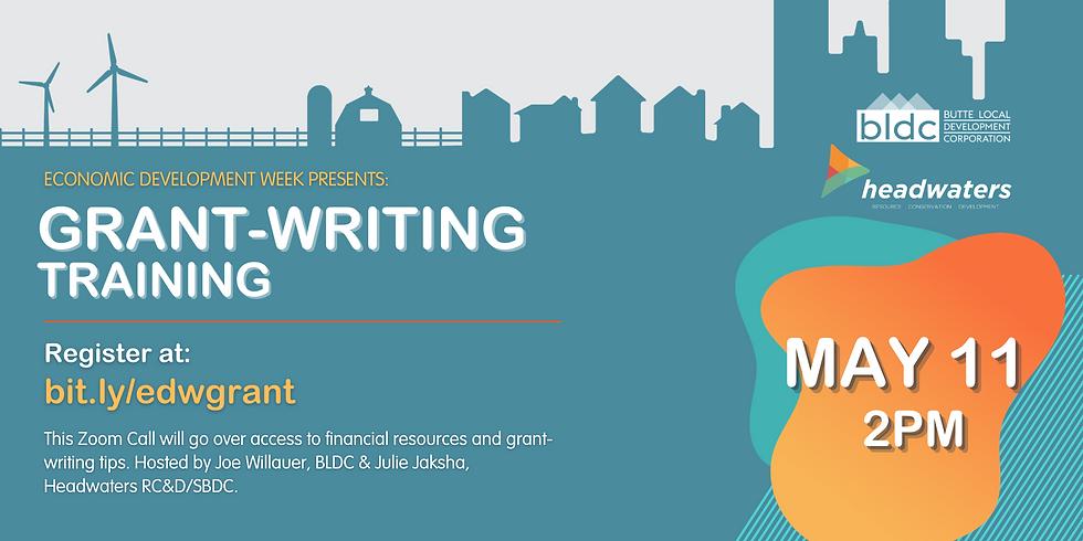 Grant-Writing Training