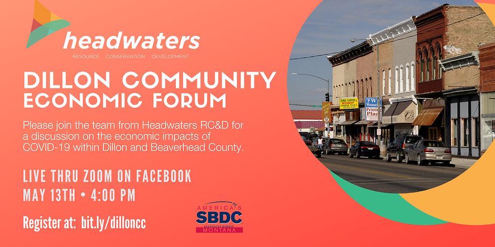 Dillon Community   Economic Forum