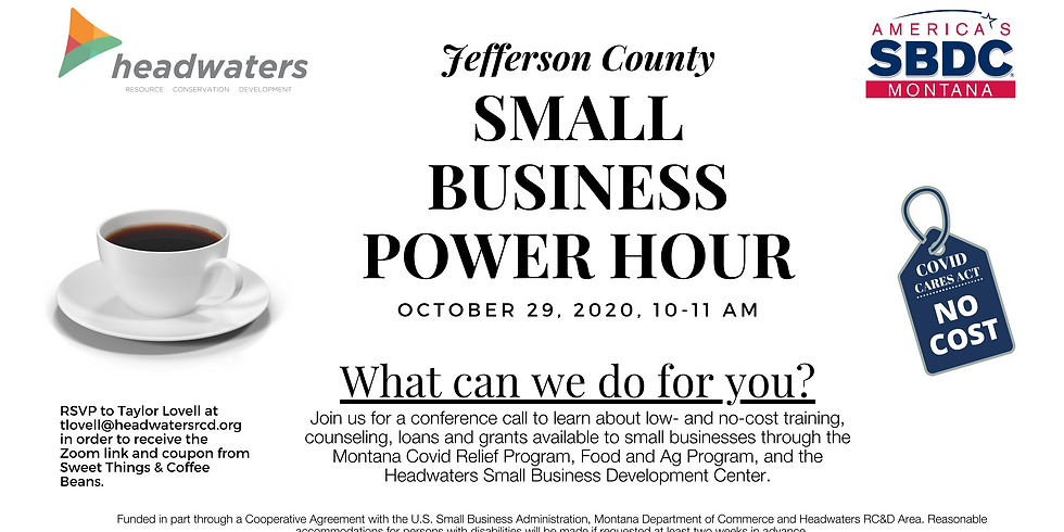 Jefferson County Small Business Power Hour