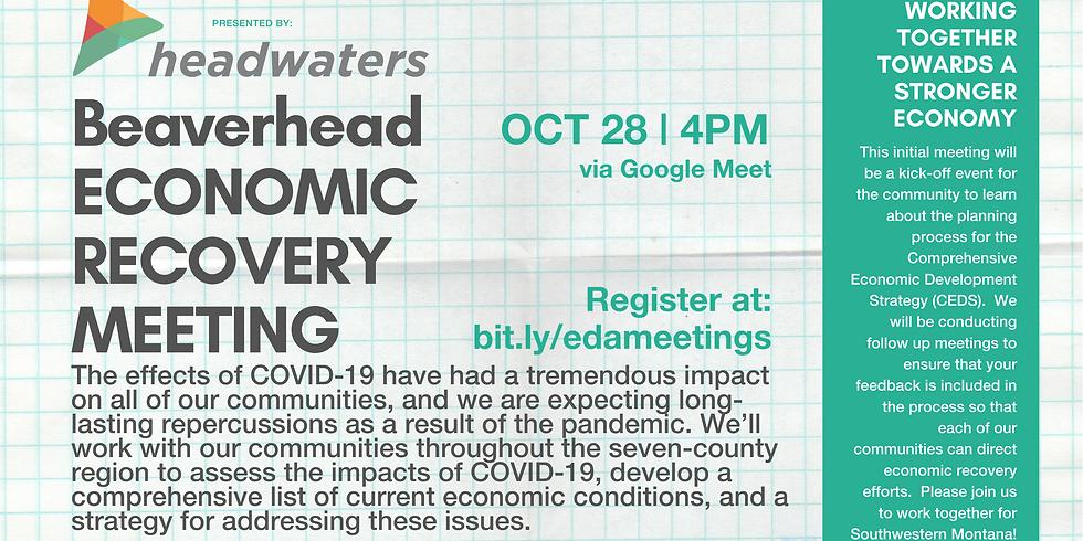 Beaverhead Economic Recovery Community Meeting
