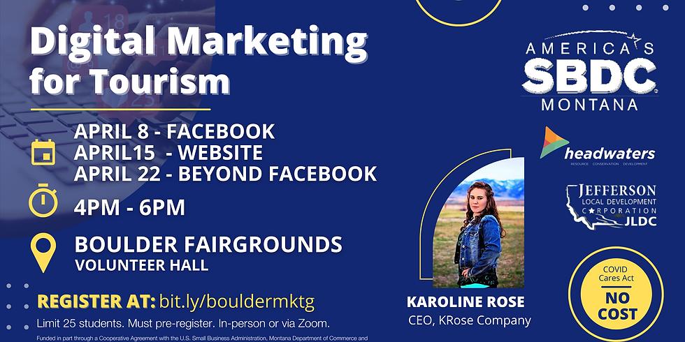 Digital Marketing for Tourism - Beyond Facebook