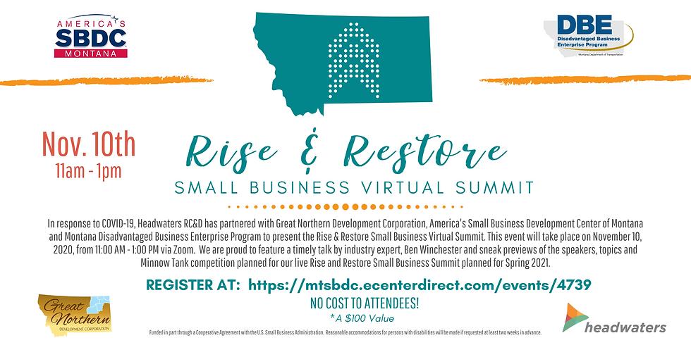 Rise & Restore Virtual Small Business Summit