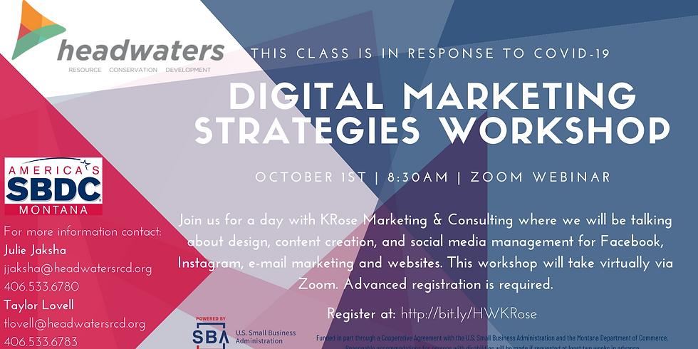 Digital Marketing Strategies Workshop