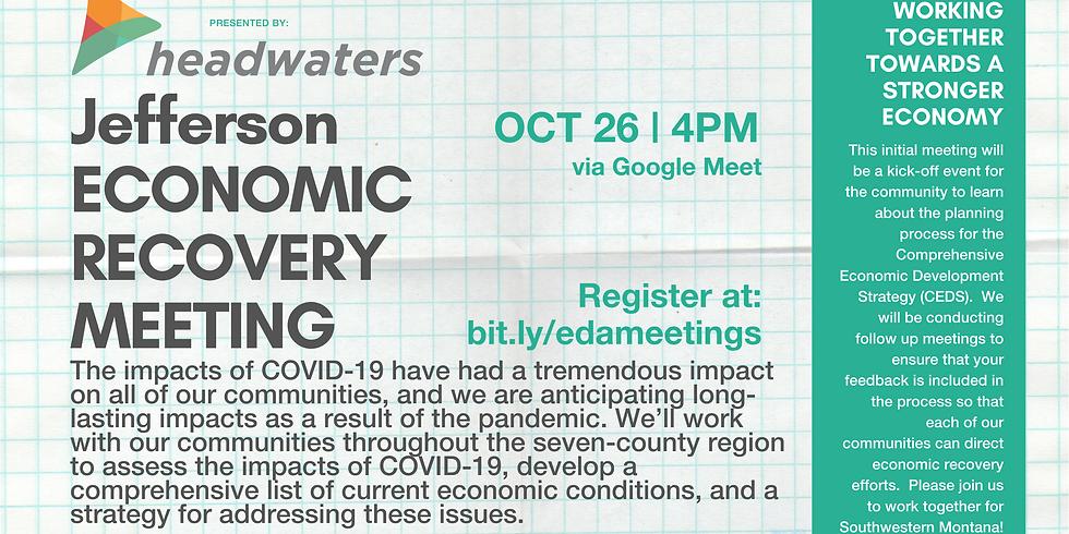 Jefferson Economic Recovery Community Meeting
