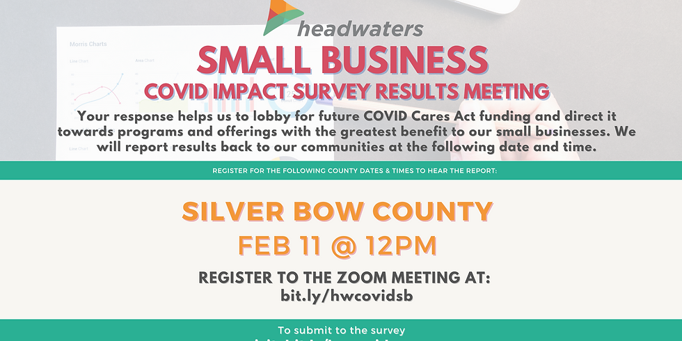 Silver Bow County Small Business COVID Survey Results Meeting