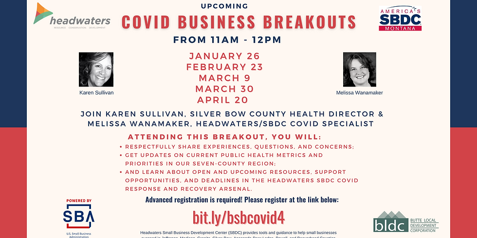 COVID-19 Business Breakout Chat with Karen Sullivan - Feb 16th