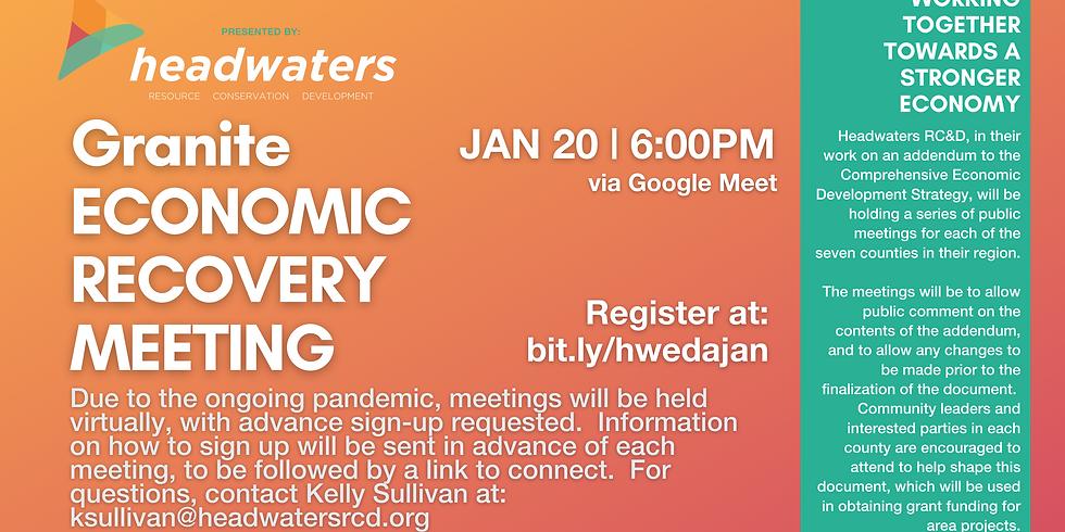 Granite January Economic Recovery Meeting