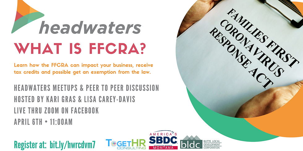What is FFCRA?