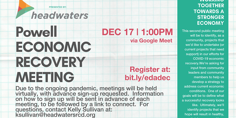 Powell Economic Recovery December Meeting