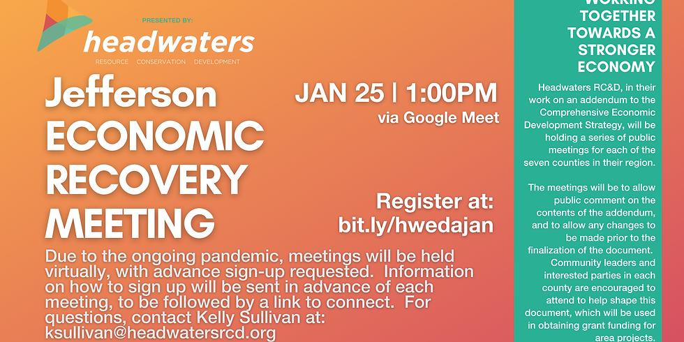 Jefferson January Economic Recovery Meeting