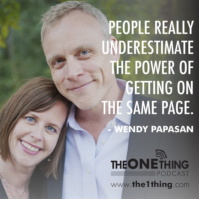 The ONE Thing Virtual Goal Setting Retreat - Couples