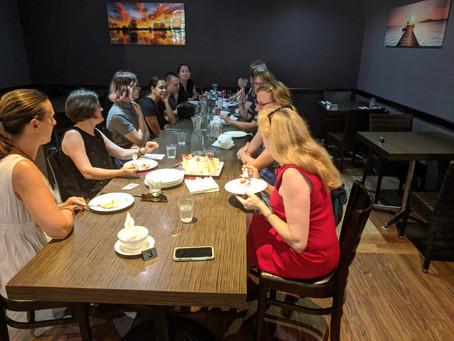 Birthday party at Ruby Vietnamese