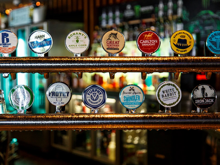 So many drinks to choose from. Our drinks tour will feature a few delightful surprises.