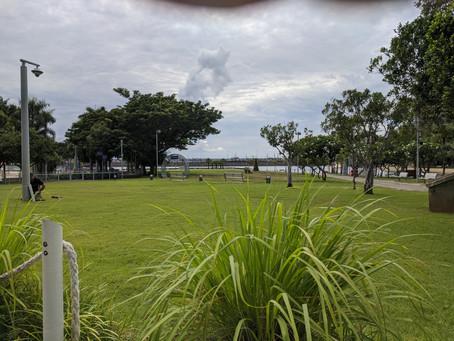 At Darwin Waterfront this morning...