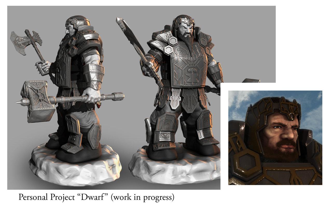 Dwarf Sculpt