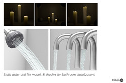 Fire and water for visualisation
