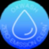 Eco laundry oxwash badge