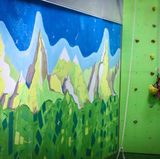 Детский скалодром в Омске