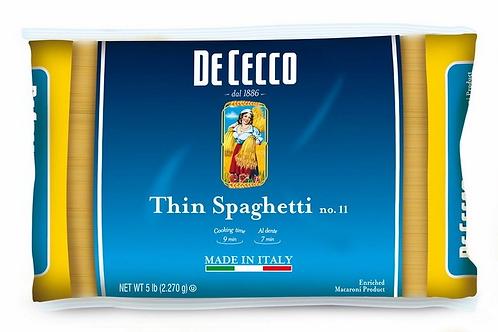 Pasta DeCecco Capellini 5LB BULK