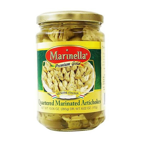 Marinella Quartered Marinated Italian Artichokes - 10 oz