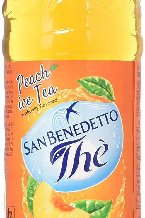 San Benedetto Iced Peach Tea, 50.7 oz