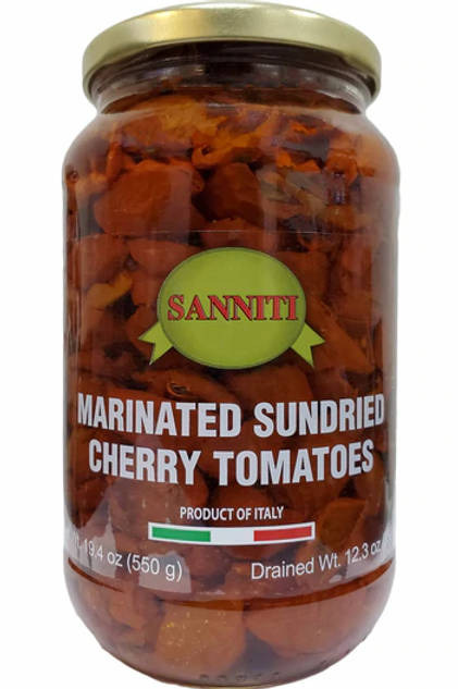 Sanniti Marinated Sun Dried Cherry Tomatoes, 19.4 oz