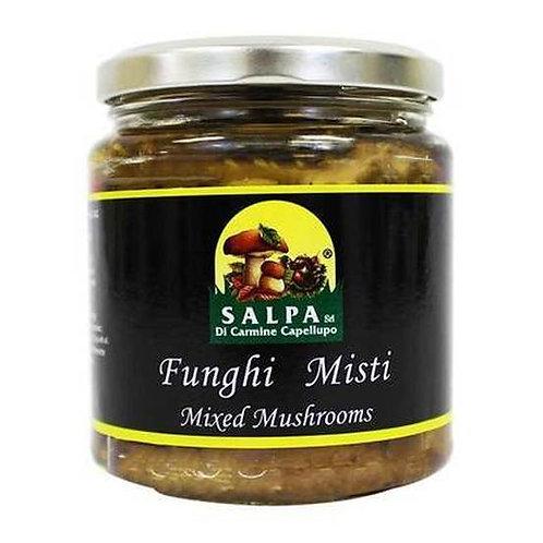 Salpa Mixed Mushrooms in Oil, 9.9 oz