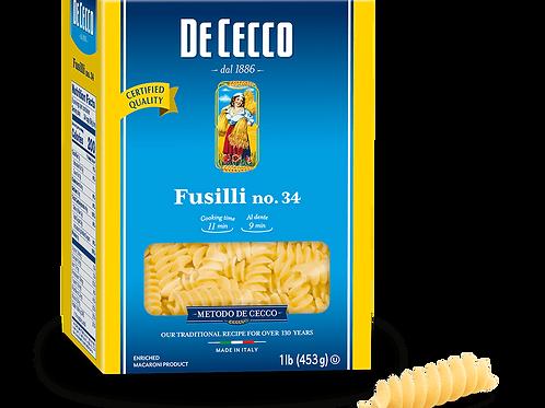 Pasta DeCecco Fusilli