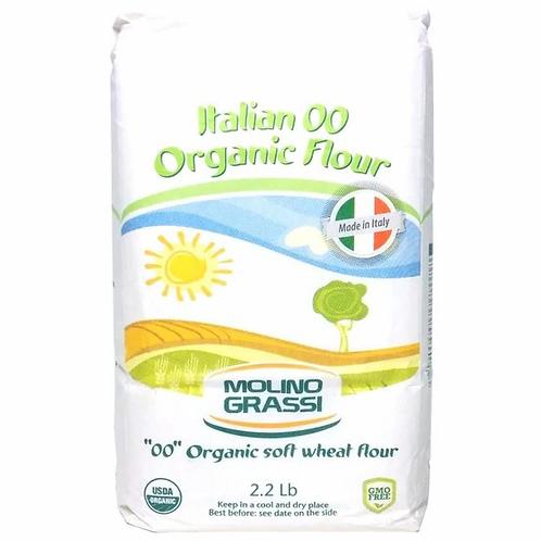 Molino Grassi Italian 00 Organic Flour - 2.2 lbs