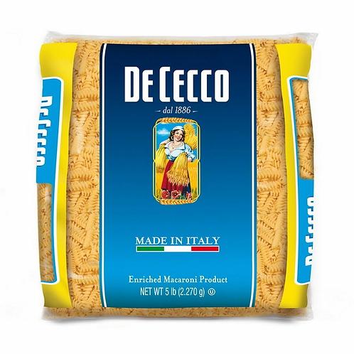 Pasta DeCecco Fusilli 5LB BULK