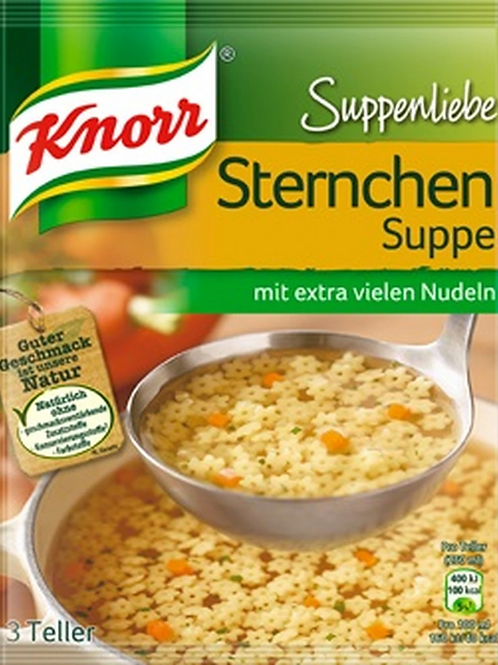 Knorr Sternchen SUppe