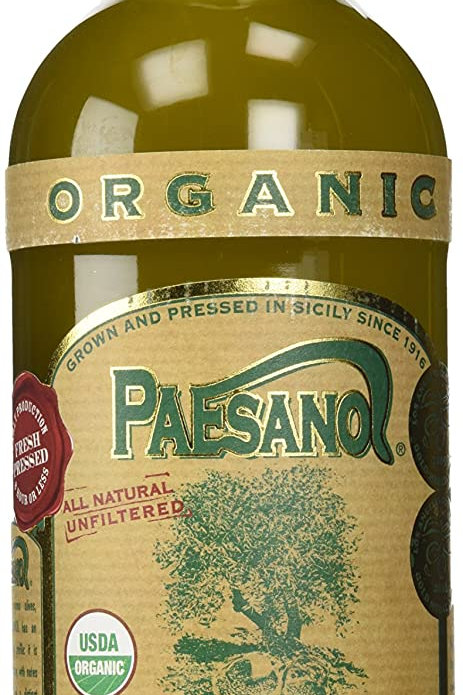 Paesano Organic Unfiltered Extra Virgin Olive Oil - 1 Liter