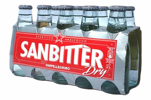 San Pellegrino Sanbitter Dry White Bitter- 10 Bottles (100mL each)