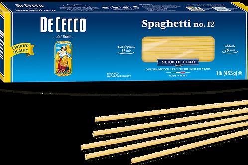 Pasta De Cecco Spaghetti