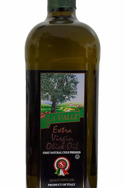 La Valle Cold-Pressed Extra Virgin Olive Oil, 33.8 oz