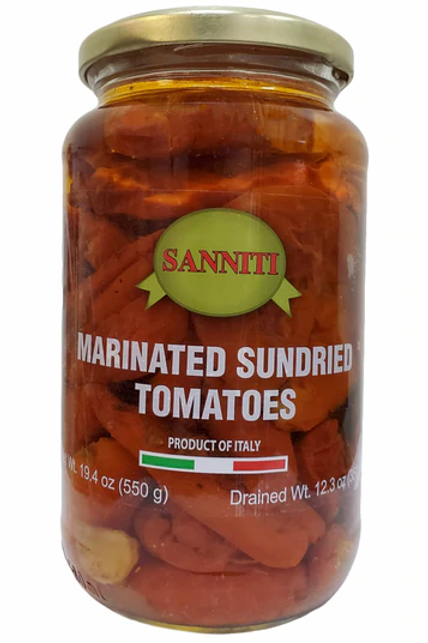 Sanniti Marinated Sun Dried Tomatoes, 19.4 oz