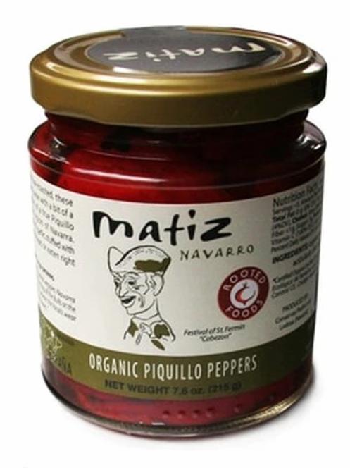 Matiz Navarro Organic Piquillo Peppers, 7.6 oz
