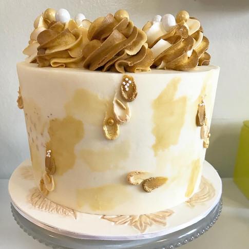Socially Distant cake