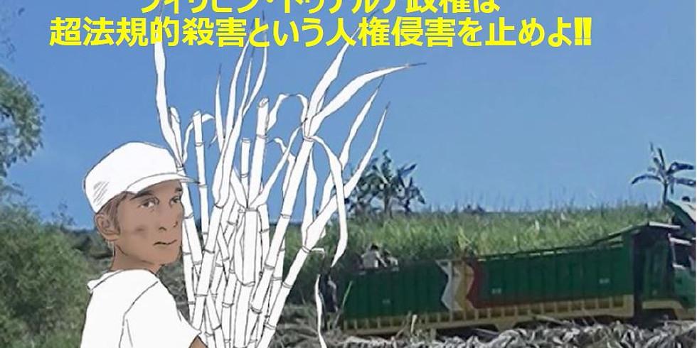 院内集会:ドゥテルテ政権は超法規的殺害を止めよ!日本のODAや武器供与が加担⁈