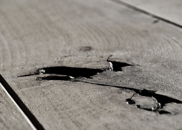 Drewno nieidealne.