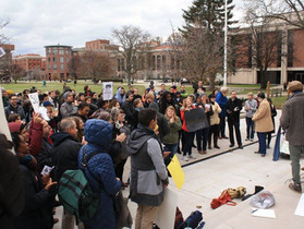 SGEU Rallies Against GOP Tax Plan Today, Goes Public With Graduate Employee Unionization Drive