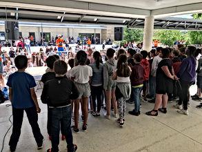 Fête de la musique - Collège Jules Verne - Education musicale